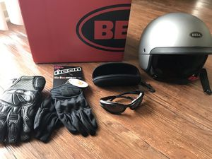 Motorcycle gear- Bell Scout Air Helmet M for Sale in Raleigh, NC