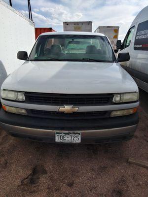 2002 Chevy Silverado longbed 2×4 v8 new clutch for Sale in Henderson, CO
