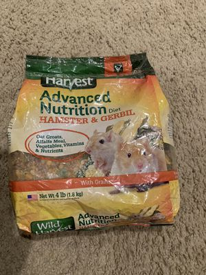 Hamster guinea pig food 4 pounds never opened for Sale in Fontana, CA