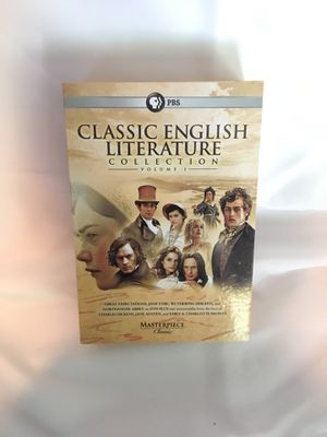 PBS Masterpiece Classic Literature Vol 1 for Sale in Stanwood, WA