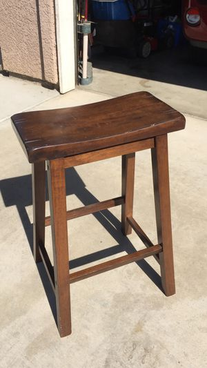 Wooden Bar Stool for Sale in Visalia, CA