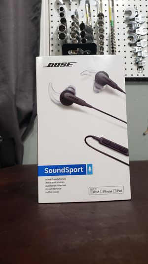 Brand new BOSE SOUND SPORT for Sale in Puyallup, WA