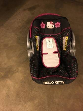 Car seat/carrier. Hello kitty