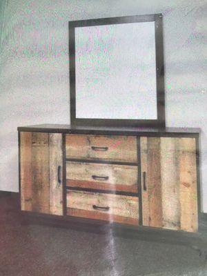 New!! Dresser, chest, wardrobe, solid wood dresser w mirror, storage unit, organizer, bedroom furniture for Sale in Phoenix, AZ