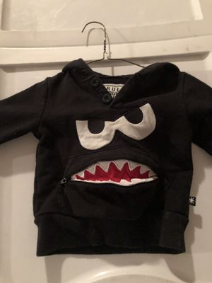 Monster sweat shirt 12 months for Sale in Brooksville, FL