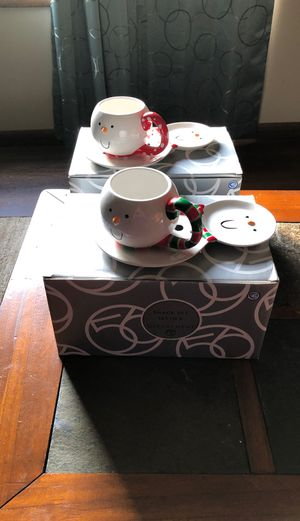 Snowman Snack Set for Sale in Clinton, IA