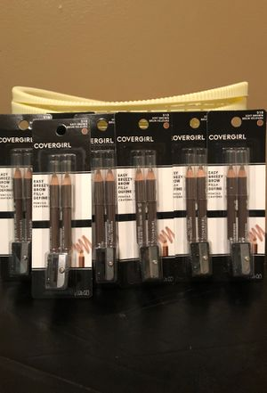 Covergirl brow pencils with sharpener $2 each soft brown for Sale in Hamburg, NY