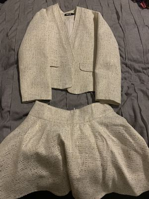 Sophyline French Designer 2 piece Ladies Skirt Suit Small for Sale in Henderson, NV