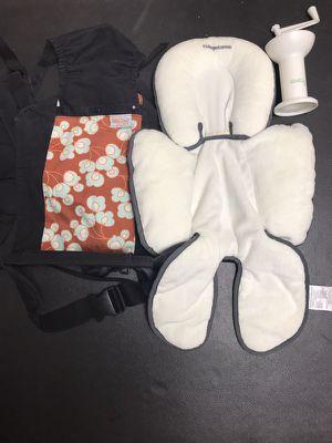 Baby bundle items - blanket, carrier, food mill, etc for Sale in Germantown, MD