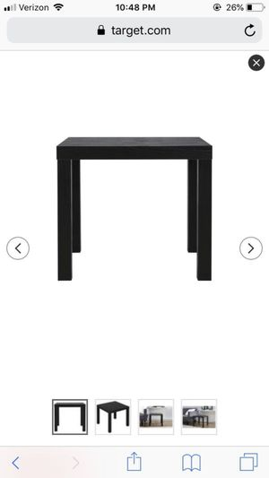 Black end side table nightstand night stand for Sale in Denver, CO