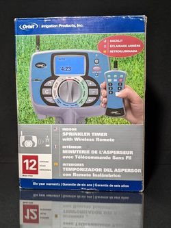 Orbit orbit remote control twelve-station sprinkler system timer - irrigation controller - 91922 for Sale in Fort Lauderdale,  FL