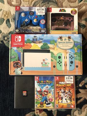 Black Friday Bundle Nintendo Switch Animal Crossing edition+More🍃 for Sale in Fort Lauderdale, FL