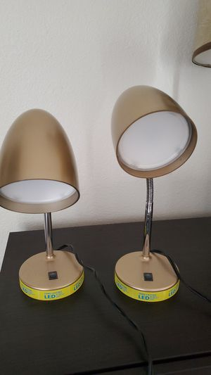 2 Led Desk Lamps for Sale in Castro Valley, CA