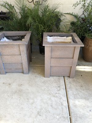 Wooden plant boxes for Sale in Delano, CA