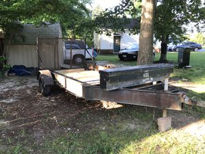 Heavy Duty Open Trailer for Sale in North Chesterfield, VA