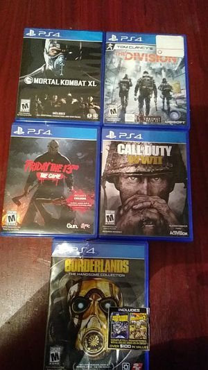 ps4 games for Sale in Grand Prairie, TX