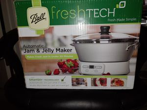 Jam and jelly maker for Sale in Rincon, GA