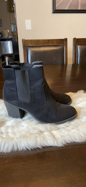 H&M Black Ankle Boots. Size 8 Excellent Condition! for Sale in Las Vegas, NV