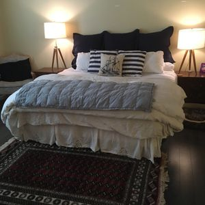 Two Singles Or One King Bed w/bedding! for Sale in Chesterfield, MO