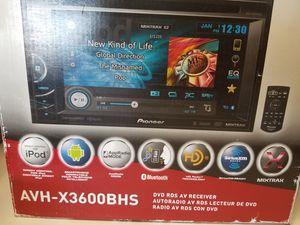 Car Stereo Receiver DVD player for Sale in Las Vegas, NV