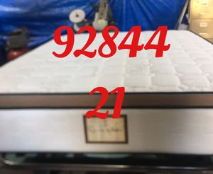"12"" thick foam Encase 1 Sided Pillow Top mattress. Not rebuild. All new materials. Price includes tax and local delivery. Cash only. Twin Mattre for Sale in Garden Grove, CA"