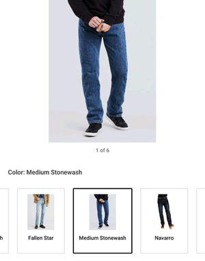 Men's 34 X 32 Regular Fit 505 Levi's Jeans ** BRAND NEW ** for Sale in Toms River, NJ