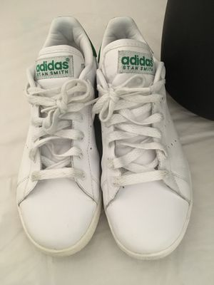 Adidas Women's Stan Smith Casual Sneakers White Green Size 6 for Sale in Portsmouth, VA