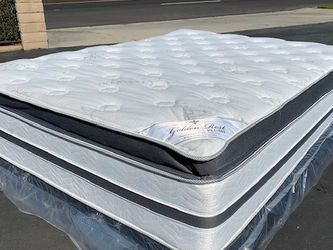 Queen Golden Rest Bamboo Hybrid Gel Mattress for Sale in La Puente,  CA