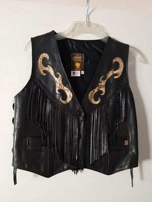 Women's Leather Vest for Sale in Rancho Cucamonga, CA