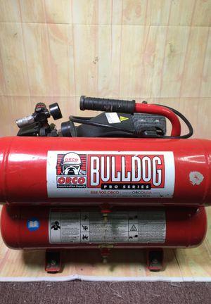 Orco bulldog pro series has powered wheelbarrow style air compressor bcp006232 for Sale in Huntington Beach, CA