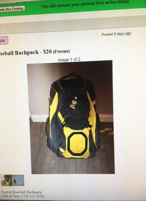 Baseball Backpack for Sale in Fresno, CA