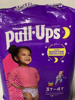 Pull Ups 3T-4T Huggies 18 Count for Sale in Silverado,  CA