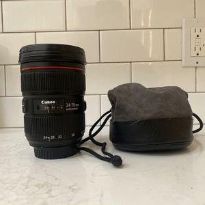 Canon 24-70 2.8 II for Sale in Los Angeles, CA