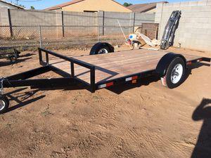 Heavy duty flat bed trailer for Sale in Phoenix, AZ