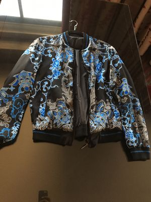 Authentic Versace Bomber jacket reverse-able for Sale in San Diego, CA