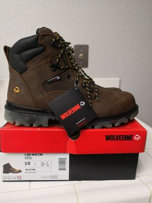 Brand new wolverine composite toe work boots size 10 for Sale in Riverside, CA
