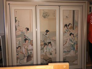 Giant Japanese Painting for Sale in Fountain, CO
