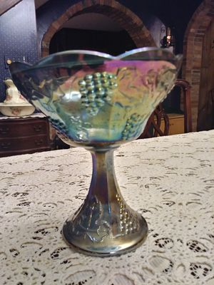 Gorgeous Blue Carnival Glass for Sale in Groveport, OH