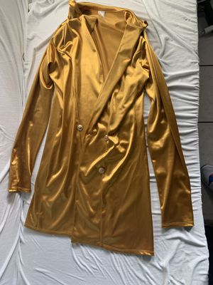 Gold dress SIZE L for Sale in Castro Valley, CA