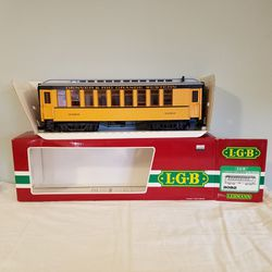 LGB 3082 G Gauge D&RGW Passenger Coach with Box Model Train Lehmann Railroad for Sale in Bethesda,  MD