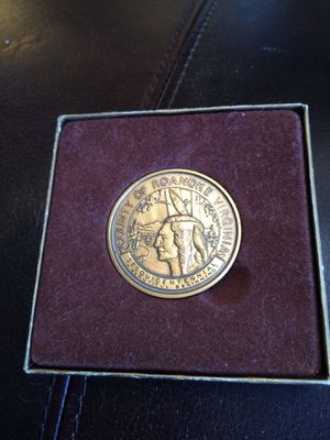 Roanoke Va 150th Anniversary Commemorative Coin STRIKE ERROR RECALL! for Sale in Troutville, VA