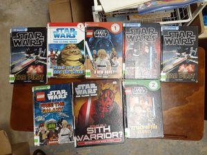 Star Wars - Super Heroes - Lego kids books for Sale in Murrieta, CA