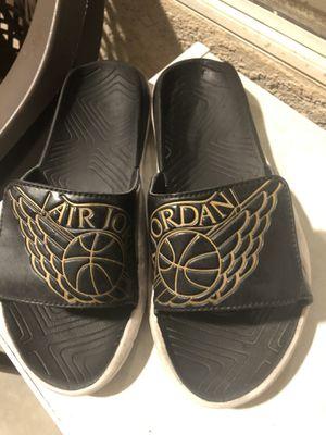 Boys Jordan sandals for Sale in Los Lunas, NM