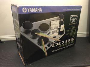 Yamaha DD-65 Portable Digital Drum Kit with Foot Pedals and Drum Sticks for Sale in Monterey Park, CA