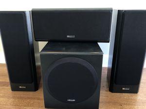 3 Speaker & Subwoofer Set - Axiom Millennia & Polk Audio for Sale in Lawrenceville, GA