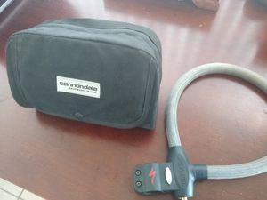 Cannondale handle bar bike bag & lock for Sale in Vista, CA