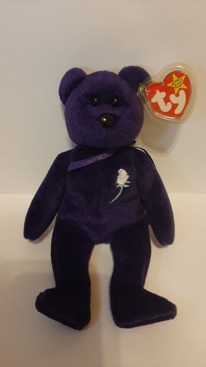 Princess beanie baby for princess diana 1997 for Sale in Garland, TX