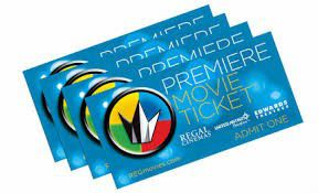 9 general admissiom regal cinema movie passes for Sale in Mission Viejo, CA
