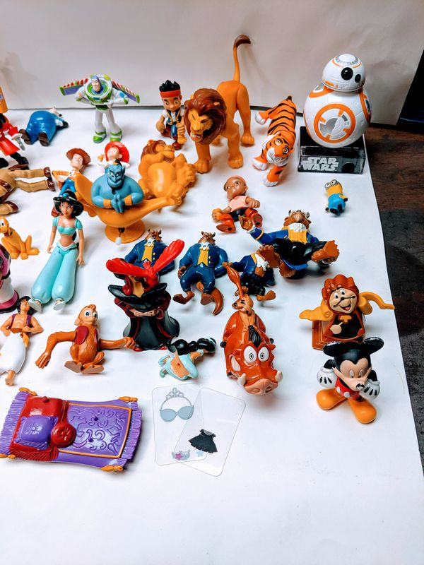 65+ Disney Toy Collection