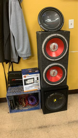 Car sound system 12s for Sale in Tempe, AZ
